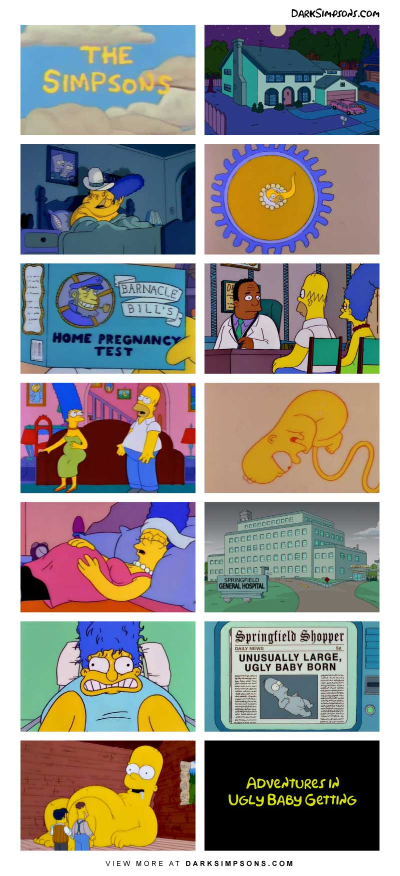 Marge simpson comic