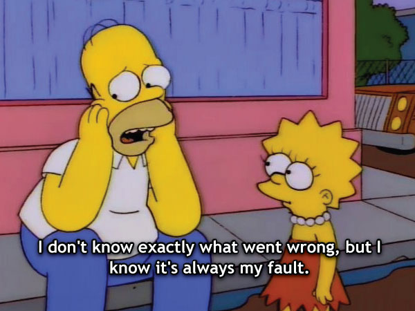 Always My Fault