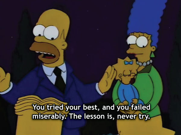 Dark Simpsons Quotes