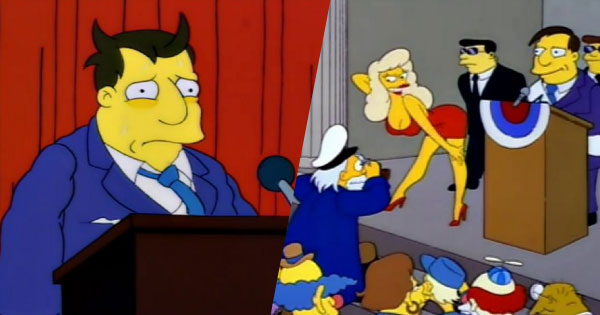 Homer vs. Mayor Quimby