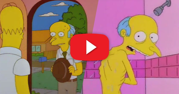 Mr. Burns is Flat Broke